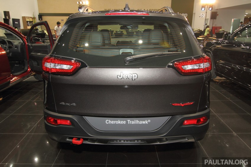 Jeep Cherokee launched in Malaysia, from RM349k Image #292356