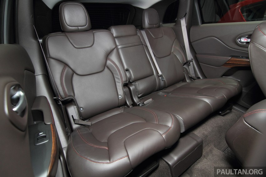Jeep Cherokee launched in Malaysia, from RM349k Image #292431
