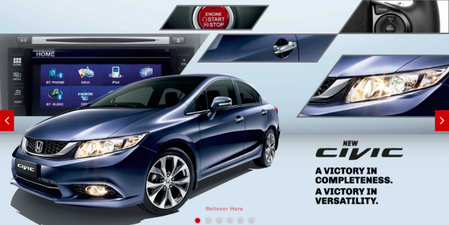 new car release malaysia 2014Honda Civic Facelift now in Malaysia  more kit lower price