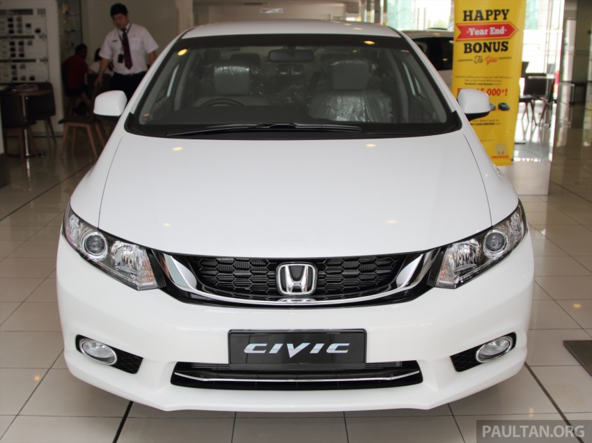 GALLERY: 2014 Honda Civic 1.8S facelift in showroom Image #288271