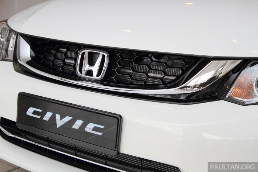 GALLERY: 2014 Honda Civic 1.8S facelift in showroom Image #288276