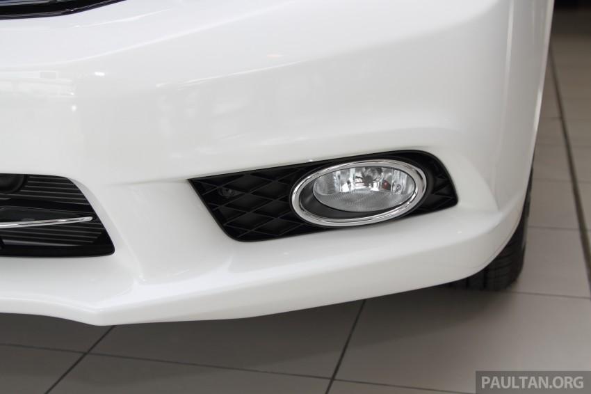 GALLERY: 2014 Honda Civic 1.8S facelift in showroom Image #288278