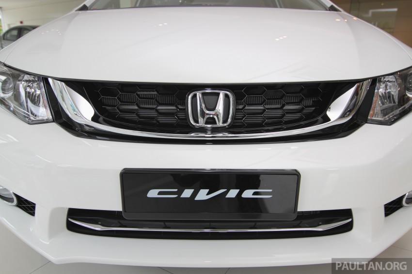 GALLERY: 2014 Honda Civic 1.8S facelift in showroom Image #288280