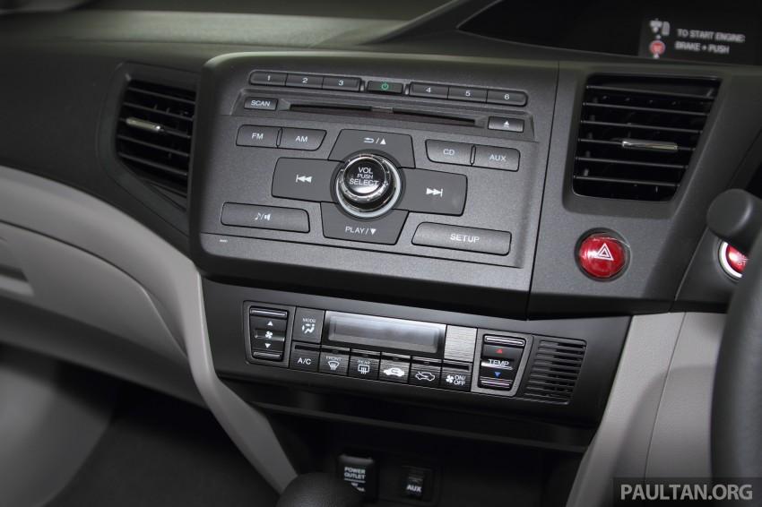 GALLERY: 2014 Honda Civic 1.8S facelift in showroom Image #288298
