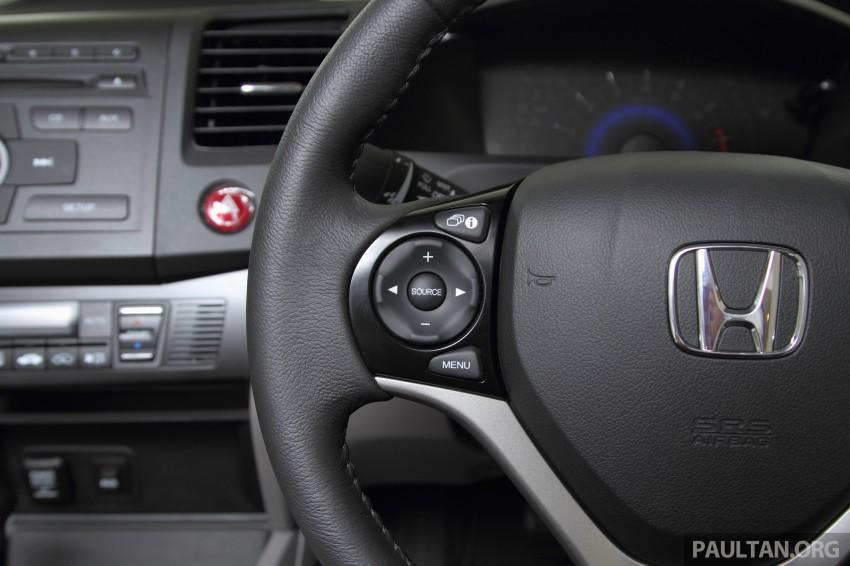 GALLERY: 2014 Honda Civic 1.8S facelift in showroom Image #288303