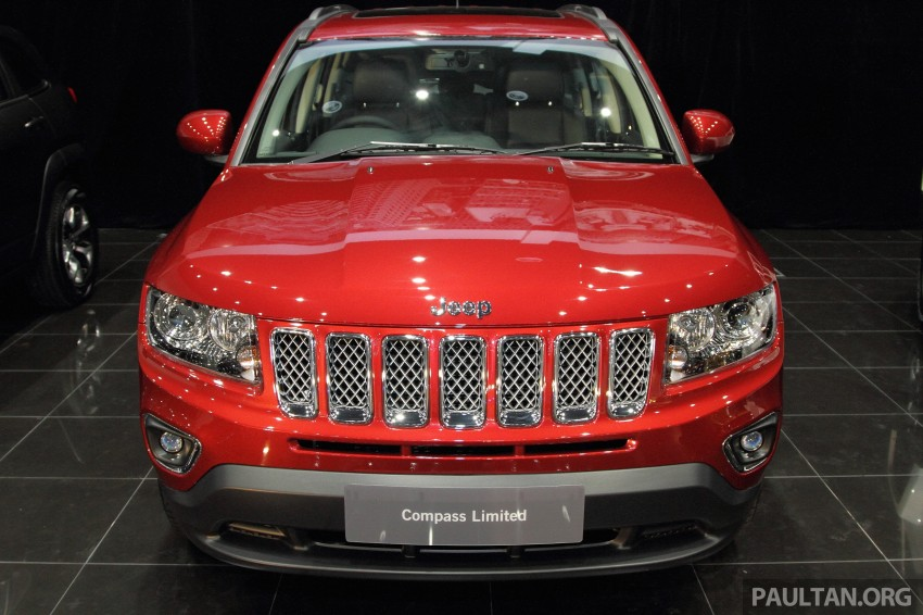Jeep Compass Limited launched – 2.4 litre, RM249k Image #292260