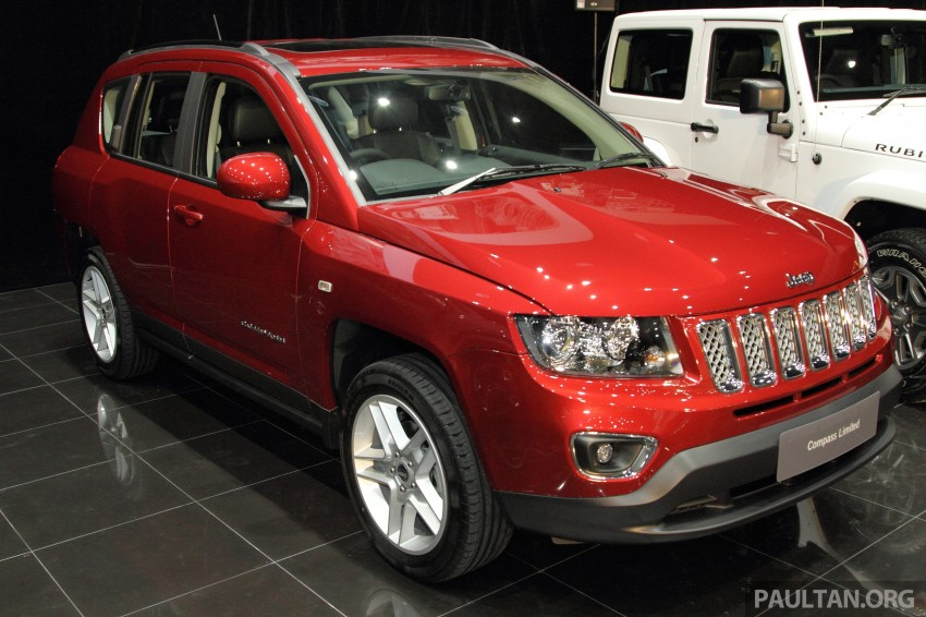 Jeep Compass Limited launched – 2.4 litre, RM249k Image #292261