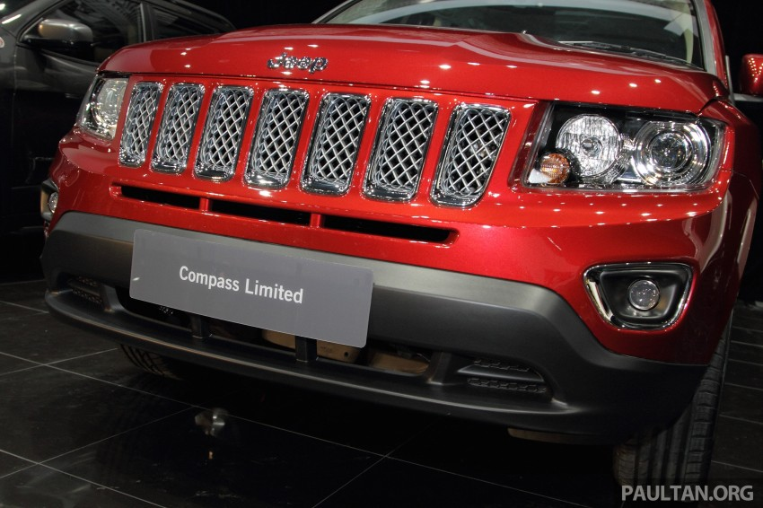 Jeep Compass Limited launched – 2.4 litre, RM249k Image #292263