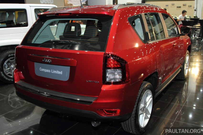 Jeep Compass Limited launched – 2.4 litre, RM249k Image #292271