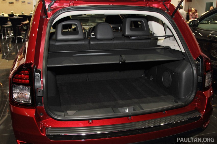 Jeep Compass Limited launched – 2.4 litre, RM249k Image #292282