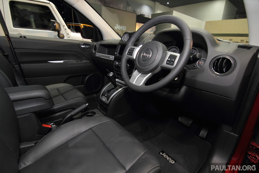 Jeep Compass Limited launched – 2.4 litre, RM249k Image #292296