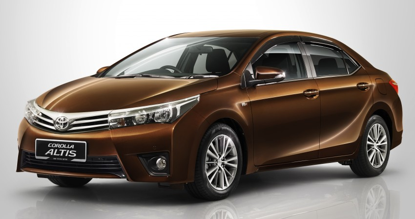 Toyota Corolla Altis 1.8G officially introduced, RM120k Image #286176