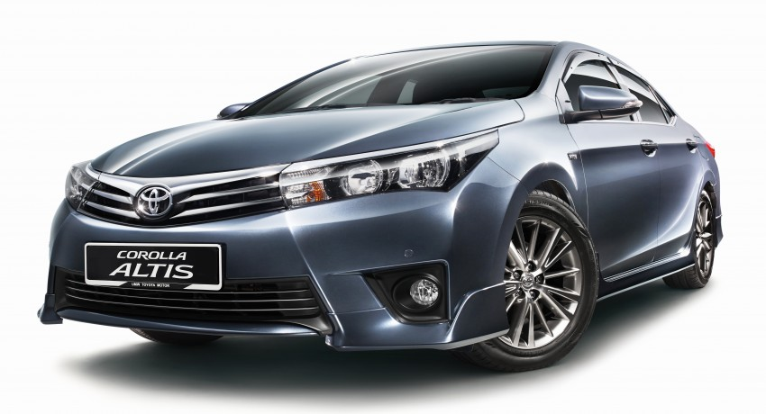 Toyota Corolla Altis 1.8G officially introduced, RM120k Image #286173
