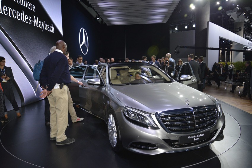 Mercedes-Maybach S 600 – all about the wheelbase! Image #290459