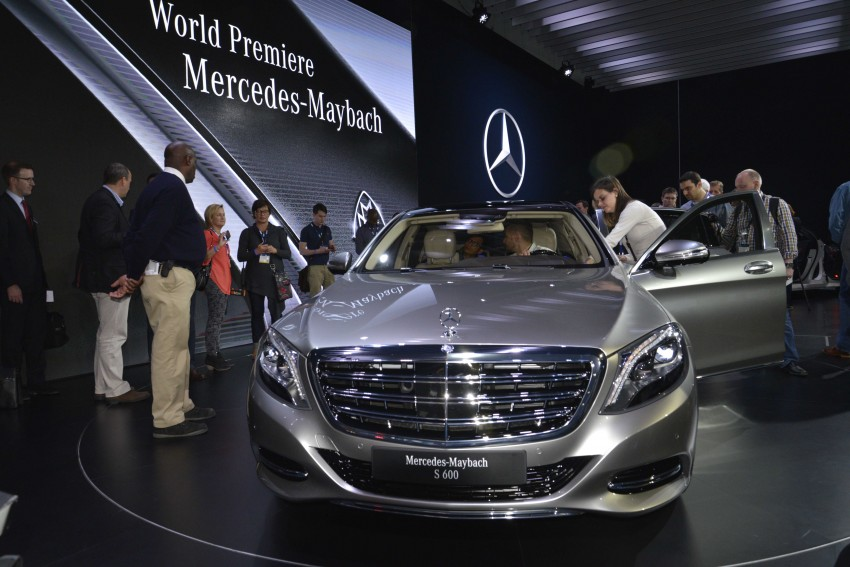 Mercedes-Maybach S 600 – all about the wheelbase! Image #290457