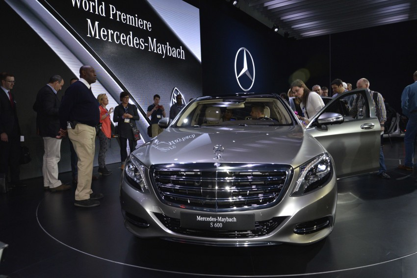 Mercedes-Maybach S 600 – all about the wheelbase! Image #290456