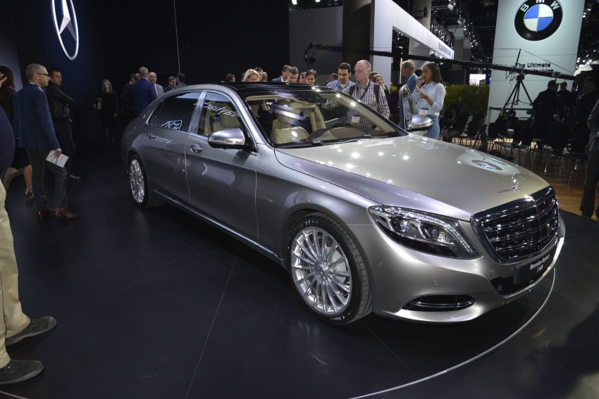 Mercedes-Maybach S 600 – all about the wheelbase! Image #290454