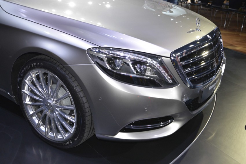 Mercedes-Maybach S 600 – all about the wheelbase! Image #290455