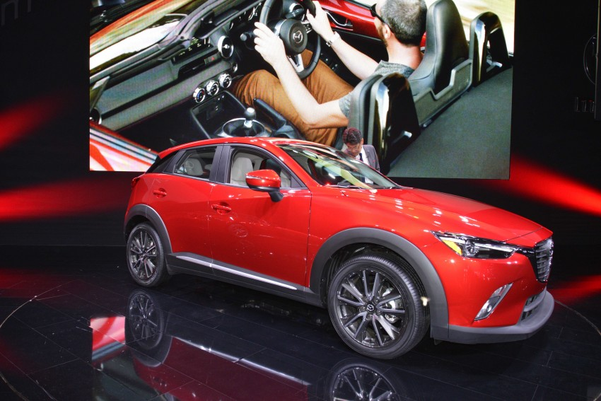 Mazda CX-5 facelift appears at LA with minor upgrades Image #290451