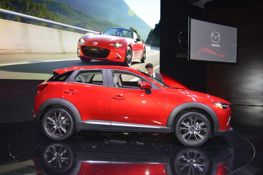 Mazda CX-5 facelift appears at LA with minor upgrades Image #290450