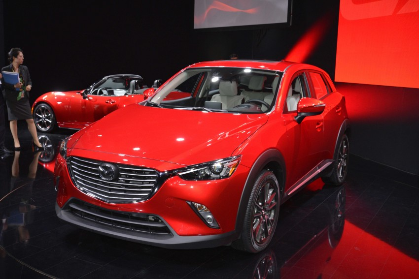 Mazda CX-5 facelift appears at LA with minor upgrades Image #290449