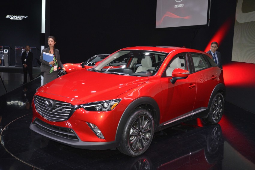 Mazda CX-5 facelift appears at LA with minor upgrades Image #290448