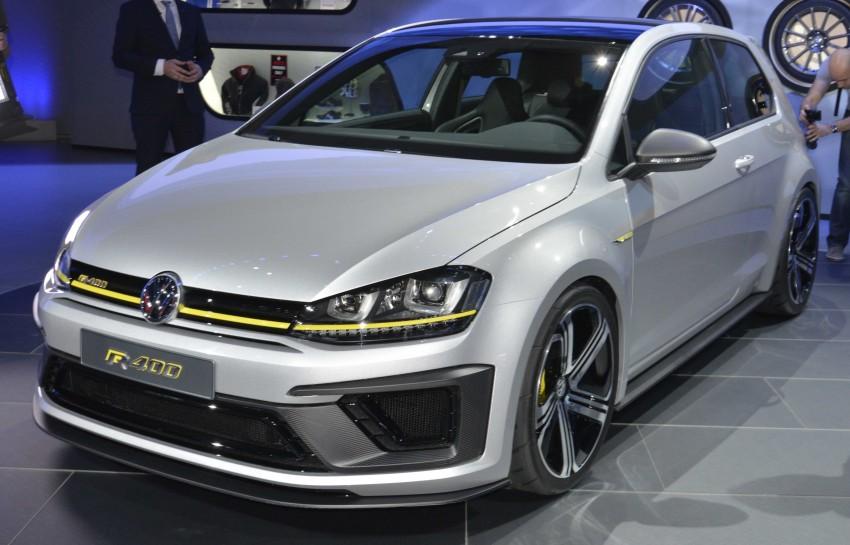 Volkswagen Golf R 400 confirmed for production? Image #290473