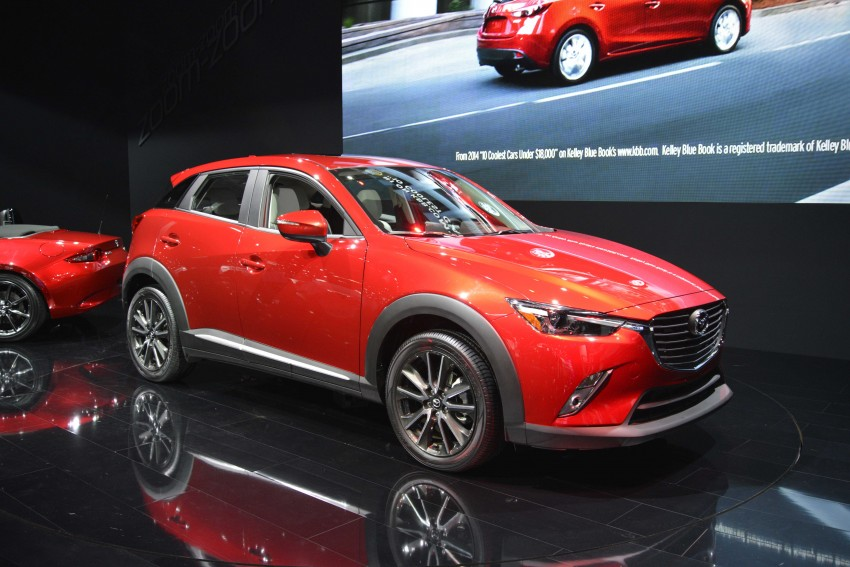 Mazda CX-5 facelift appears at LA with minor upgrades Image #290443