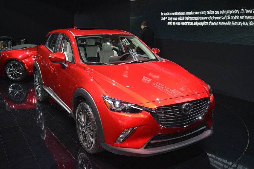 Mazda CX-5 facelift appears at LA with minor upgrades Image #290444