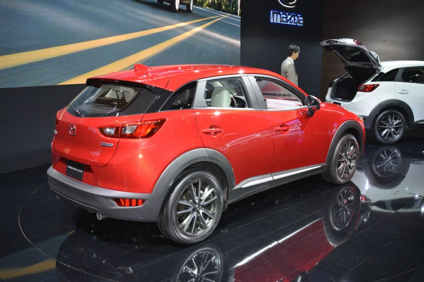 Mazda CX-5 facelift appears at LA with minor upgrades Image #290442