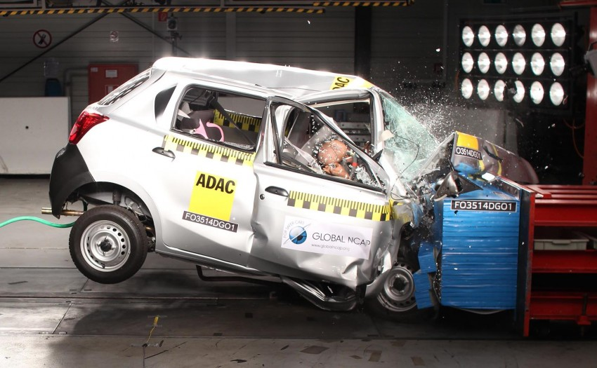 Zero-star Datsun GO is 'sub-standard' and should be pulled from the market, urges Global NCAP Image #288516