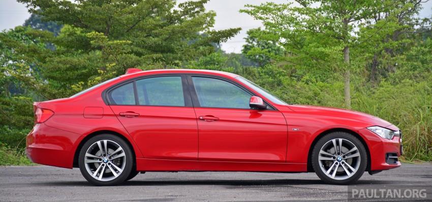 GALLERY: W205 Merc C-Class vs F30 BMW 3 Series Image #286285