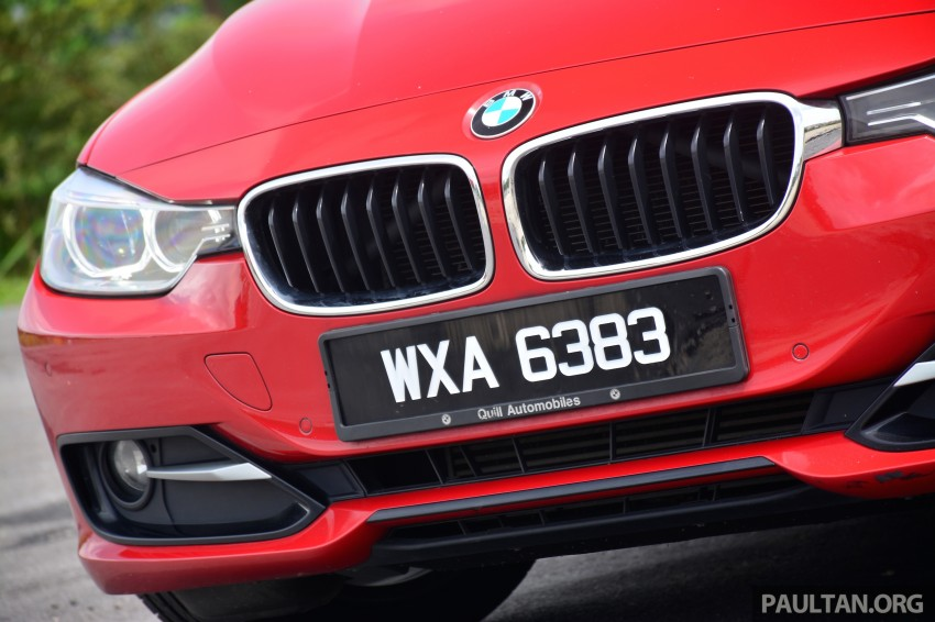 GALLERY: W205 Merc C-Class vs F30 BMW 3 Series Image #286288