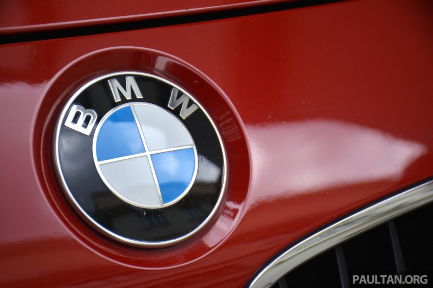 GALLERY: W205 Merc C-Class vs F30 BMW 3 Series Image #286289