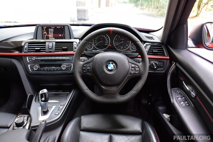 GALLERY: W205 Merc C-Class vs F30 BMW 3 Series Image #286299