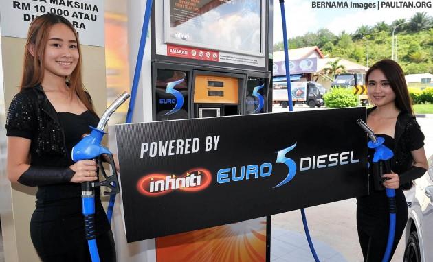 Bhpetrol Euro 5 Diesel Ready For Klang Valley In August