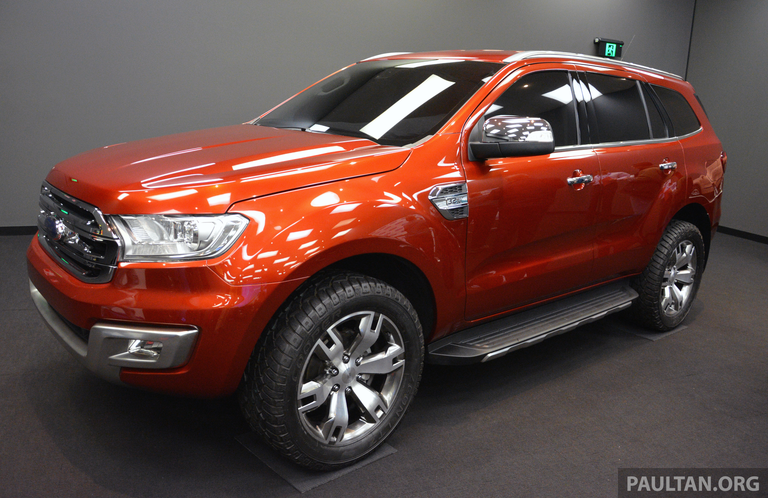 New Ford Everest to be revealed in China next week Image ...