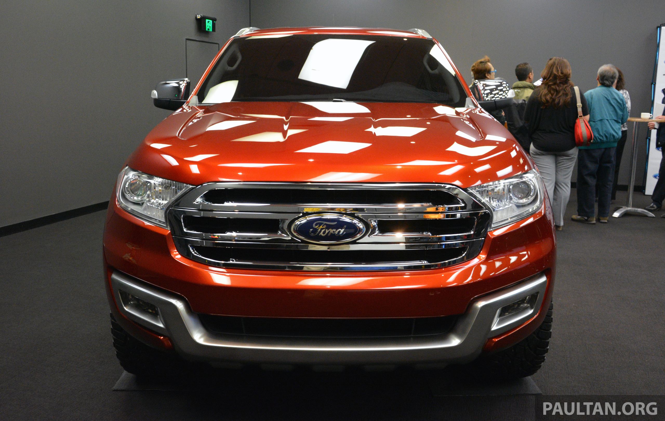 Ford Everest 2018 >> New Ford Everest to be revealed in China next week Paul Tan - Image 285656