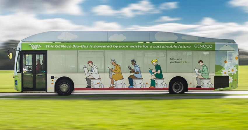 Poo-powered Bio-Bus ensures it's a case of waste not Image #292470