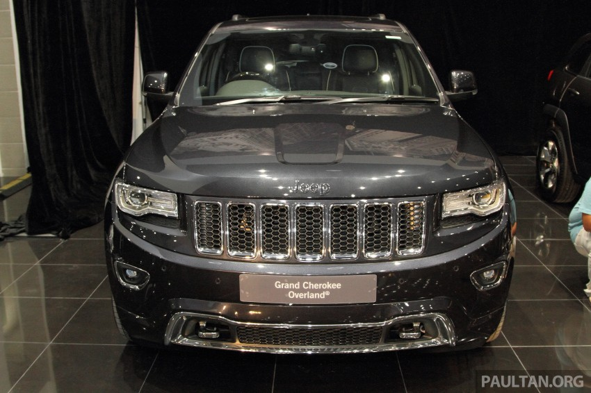 Jeep Grand Cherokee launched in M'sia, from RM449k Image #292318