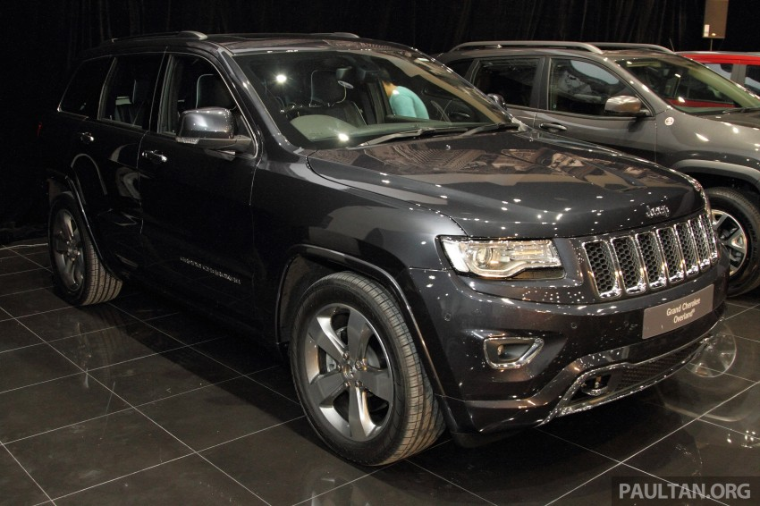 Jeep Grand Cherokee launched in M'sia, from RM449k Image #292322