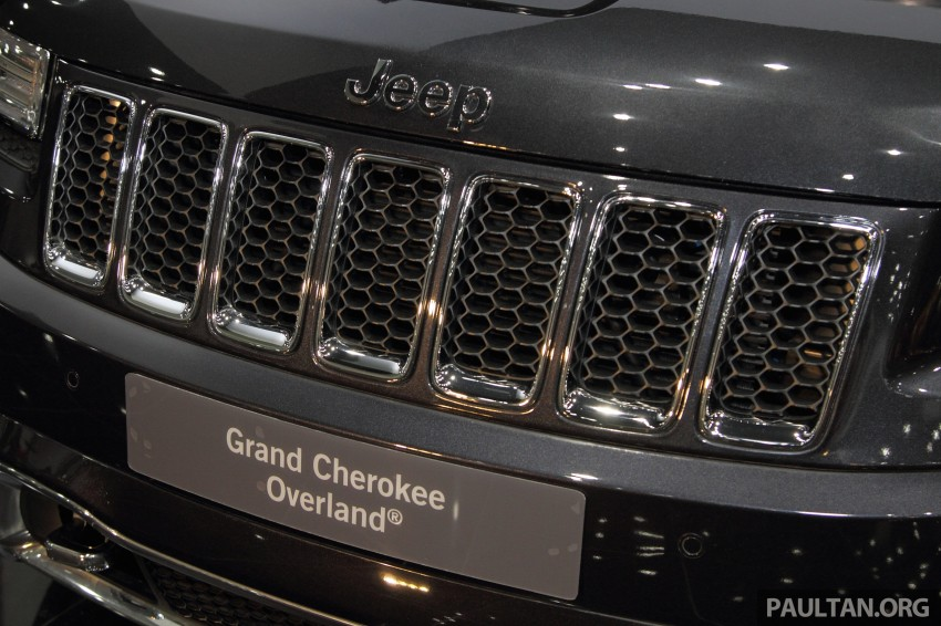 Jeep Grand Cherokee launched in M'sia, from RM449k Image #292336
