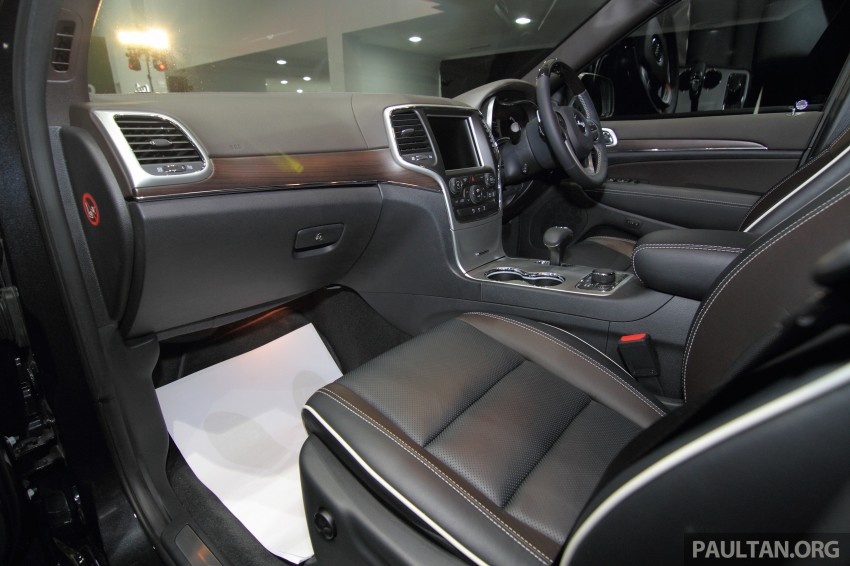 Jeep Grand Cherokee launched in M'sia, from RM449k Image #292436