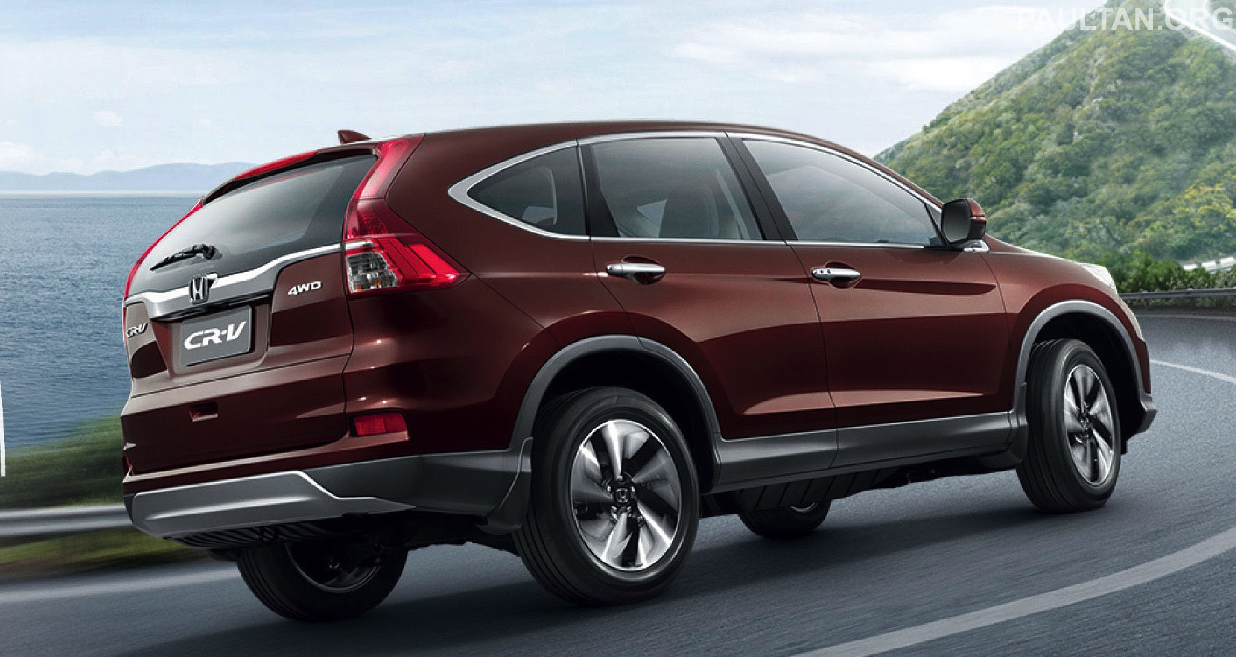 2015 honda cr v facelift asean version unveiled in. Black Bedroom Furniture Sets. Home Design Ideas