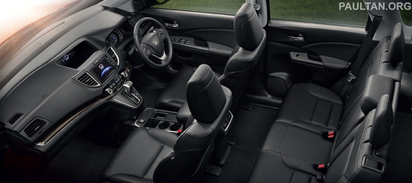 2015 Honda CR-V facelift – ASEAN version unveiled in Thailand, 2.4 litre variant gets CVT gearbox Image #284544