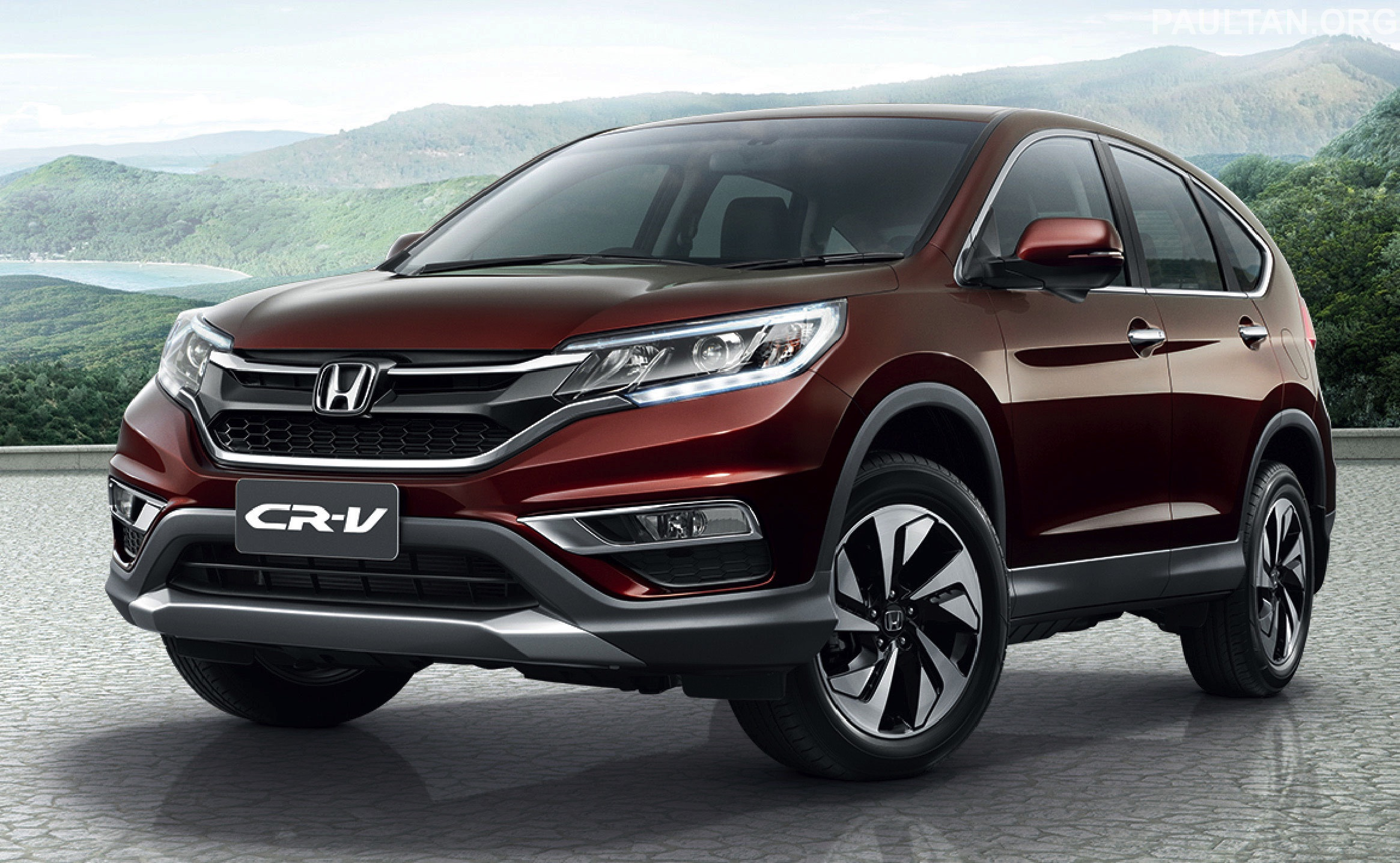 2015 honda cr v facelift asean version unveiled in thailand. Black Bedroom Furniture Sets. Home Design Ideas