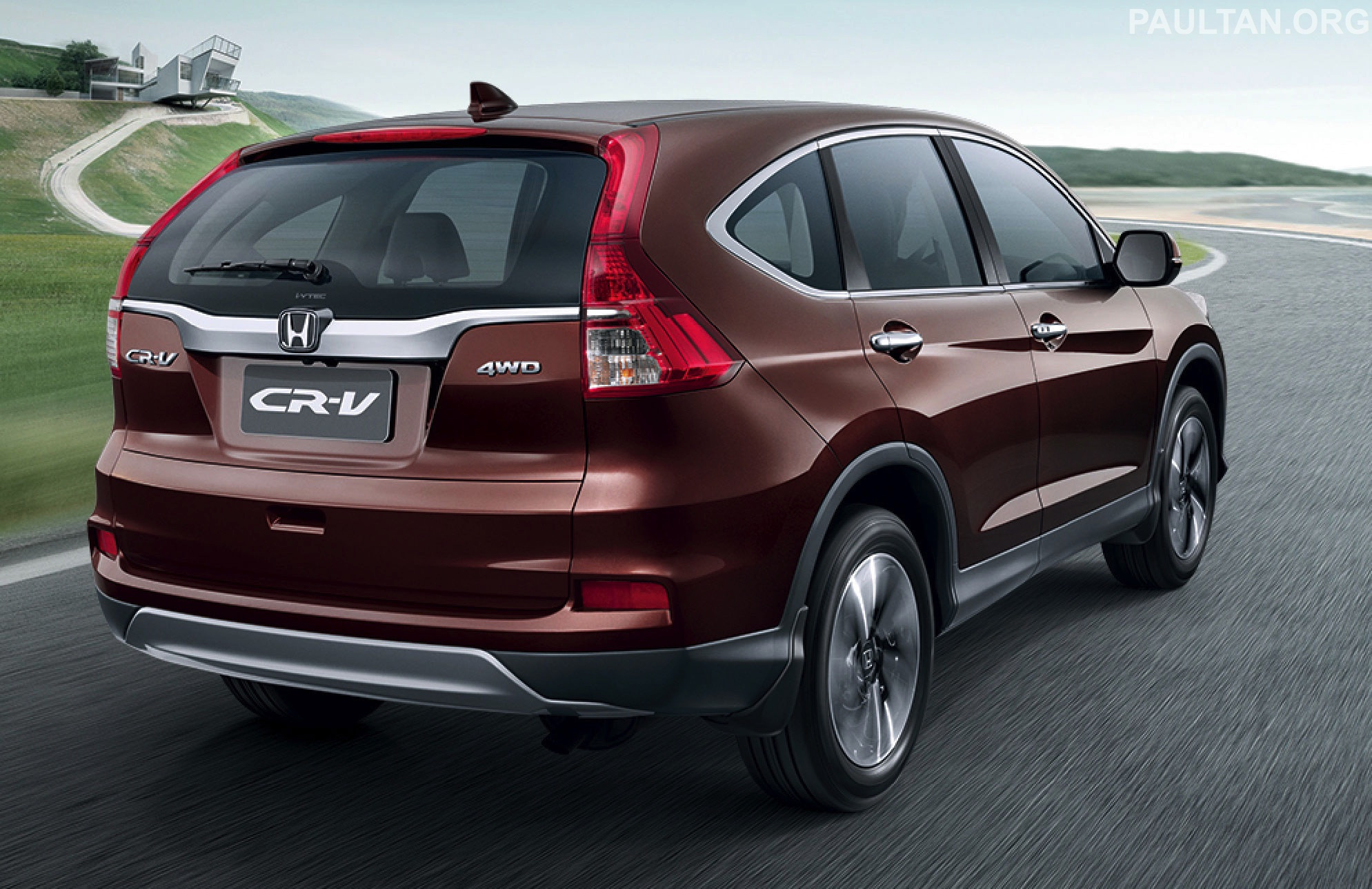 2015 Honda CRV facelift  ASEAN version unveiled in Thailand 24