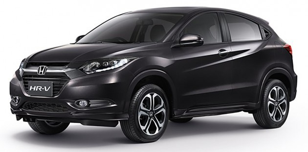 2015 Honda Hr V Launched In Thailand 1 8 Cvt From Rm90k