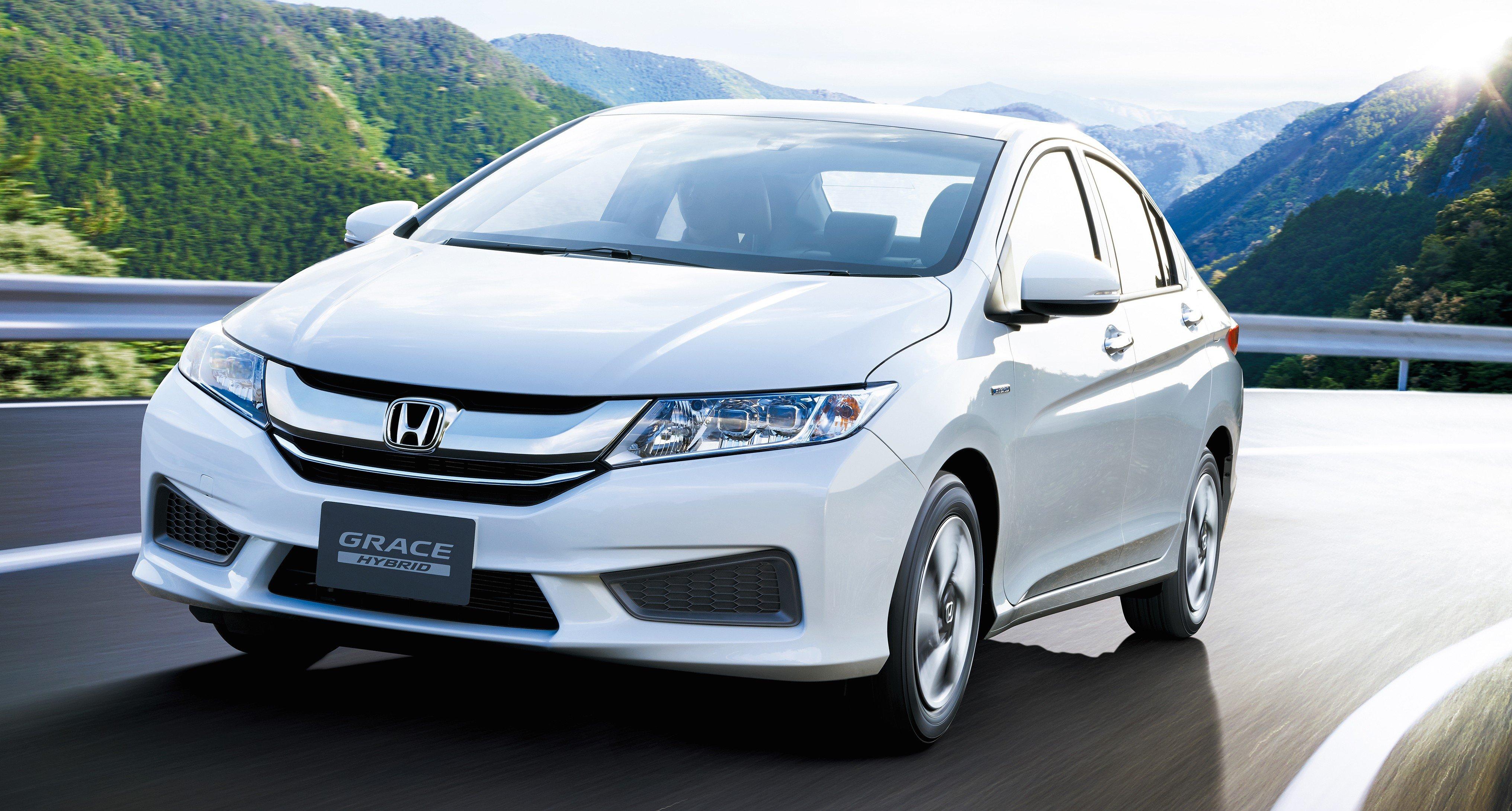 Honda City Hybrid unveiled in Japan as Honda Grace
