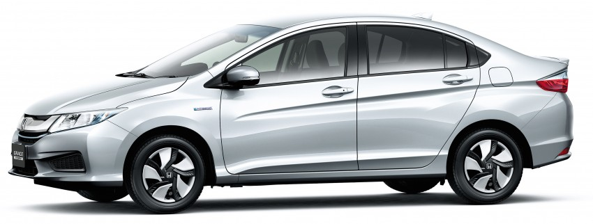 Honda City Hybrid unveiled in Japan as Honda Grace Image #284514